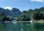 Vivid jade Hoa Binh Lake from lakeside views