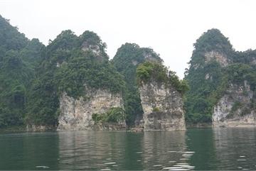 A 'Ha Long Bay among vast jungles'