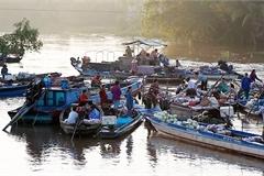 Phong Dien floating market: An interesting stop for visitors to Mekong Delta
