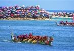 Tu Linh boat race - a unique festival of Ly Son island district