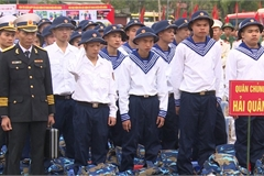 Young people nationwide join army