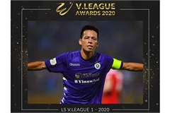 Nguyen Van Quyet crowned most valuable player of V.League 1-2020