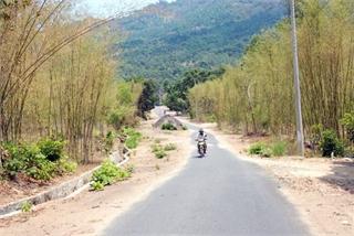Breadwinners living on straightening bamboo