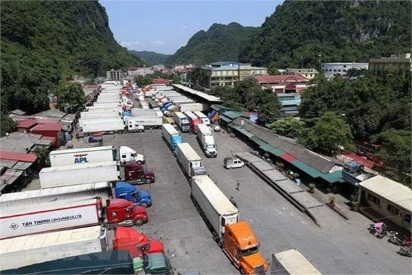 Hundreds of fruit trucks jam northern border gate