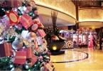 Hotels light up Christmas trees for a wonderful festive season