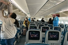 Passenger numbers must not exceed 80% of aircraft capacity