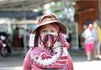 The diversity of face masks in Saigon