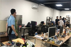 Police break up major online gambling ring in Hanoi