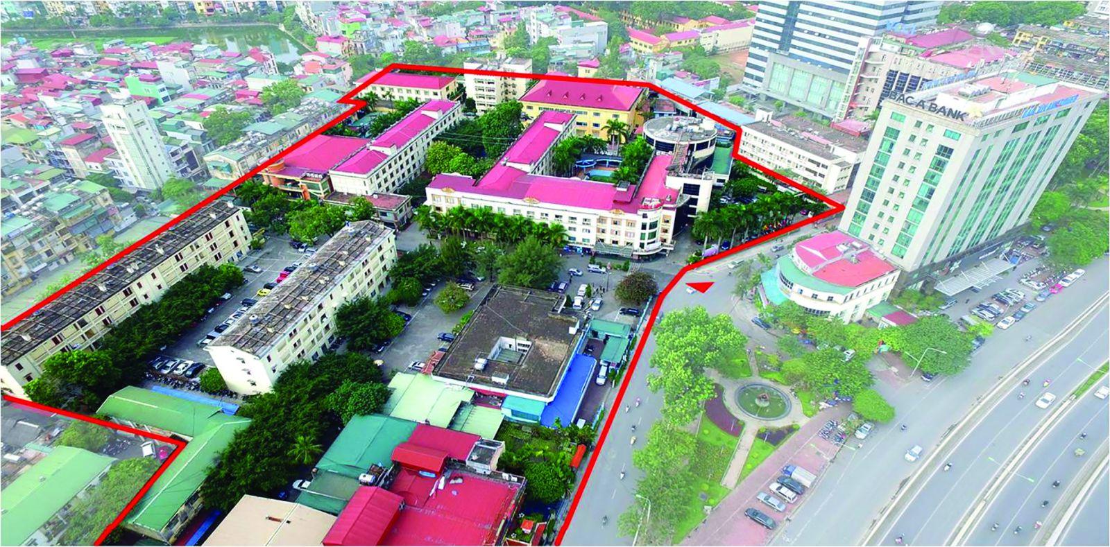 p/Đất vàng khách sạn Kim Liên - số 5 - 7 Đào Duy Anh - Hà Nội