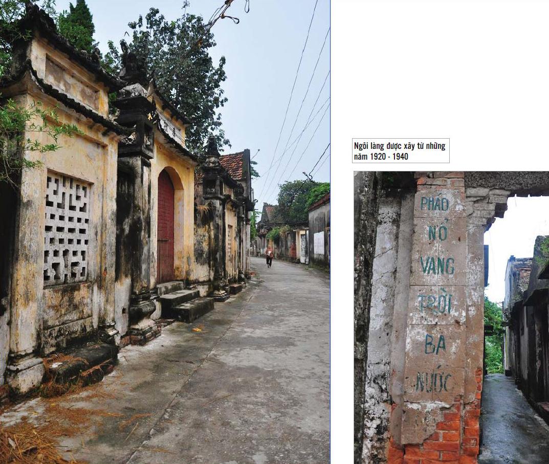 Ngôi làng được xây từ những năm 1920 - 1940