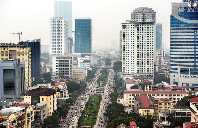 """ã có tình trạng """"bùng nổ"""" xây dựng các tổ hợp cao tầng hỗn hợp tại khu vực trung tâm nội đô của các đô t"""