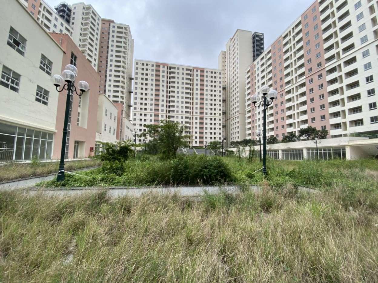 còn hơn 5.300 căn hộ tái định cư để trống thuộc các lô từ R1 đến R7 trong Khu tái định cư 38,4ha Bình Khánh,