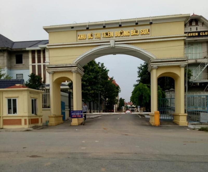 Quang cảnh khu đô thị Thiên Đường Bảo Sơn