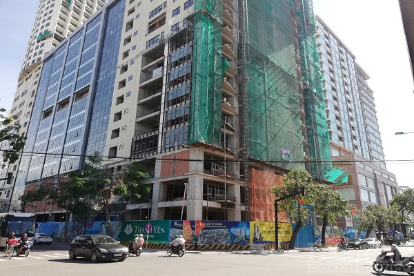 Trường Chính trị (cũ) tỉnh Khánh Hòa nằm ngay trên khu đất vàng đang được Công ty Thanh Yến xây dựng dự án