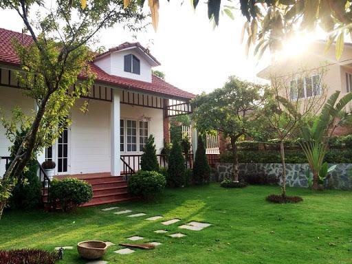 Nhà vườn ở ngoại ô Hà Nội