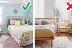 10 mẹo giúp không gian phòng ngủ nhỏ rộng và thoáng