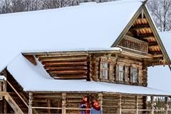 Căn nhà gỗ truyền thống Nga đốn tim vạn người