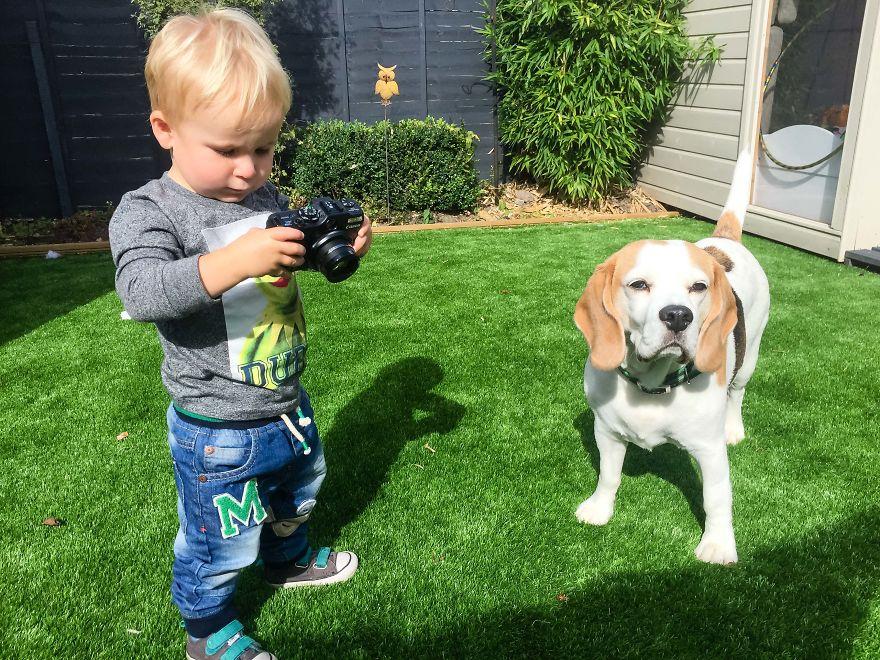 Nhiếp ảnh dễ thương: Nhìn Thế giới qua ống kính của cậu bé 19 tháng tuổi - Ảnh 28.