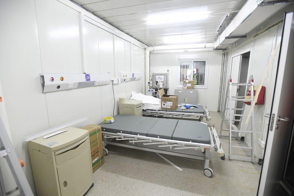 Bên trong bệnh viện dã chiến được Trung Quốc xây thần tốc trong 10 ngày để đối phó virus Vũ Hán - Ảnh 3.
