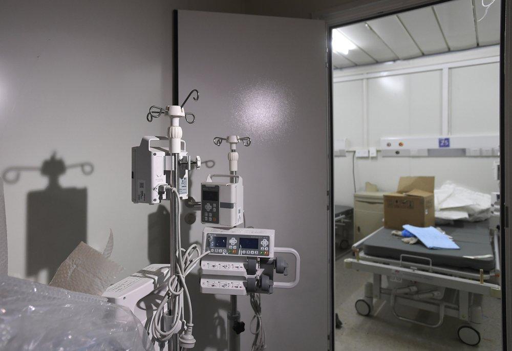 Bên trong bệnh viện dã chiến được Trung Quốc xây thần tốc trong 10 ngày để đối phó virus Vũ Hán - Ảnh 4.