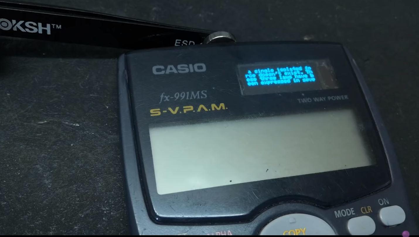 """Casio """"sờ gáy"""" YouTuber hack chiếc máy tính của hãng thành công cụ gian lận thi cử, bắt phải gỡ sạch các nội dung liên quan - Ảnh 1."""