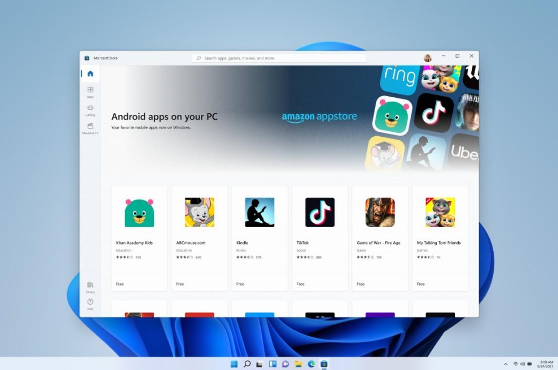 Vẫn chưa rõ thời điểm các ứng dụng Android có thể chạy trên Windows 11 - Ảnh 1.