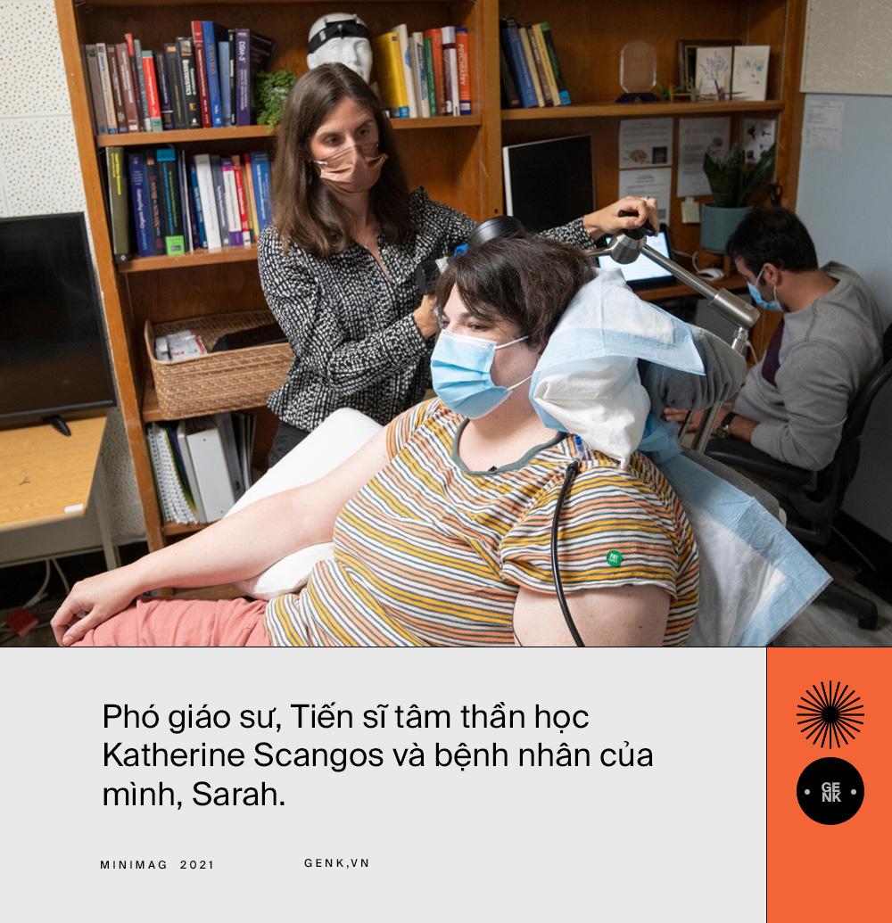 Hạnh phúc chạy bằng pin: Bệnh nhân đầu tiên trên thế giới chữa khỏi trầm cảm nhờ phẫu thuật kích thích não - Ảnh 7.