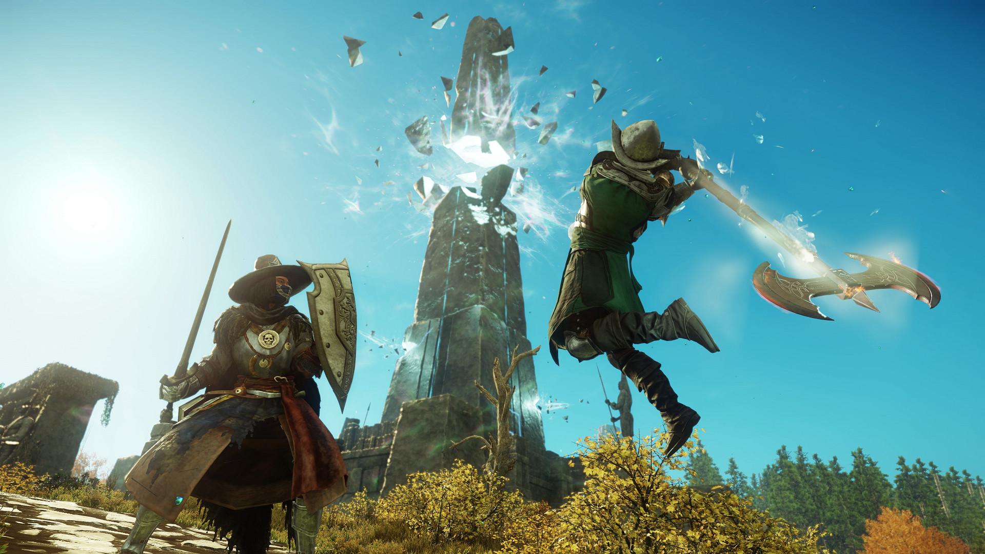 Thành công với tựa game MMO New World, Amazon đạt mốc son sau nhiều năm thất bại trong việc làm game - Ảnh 1.