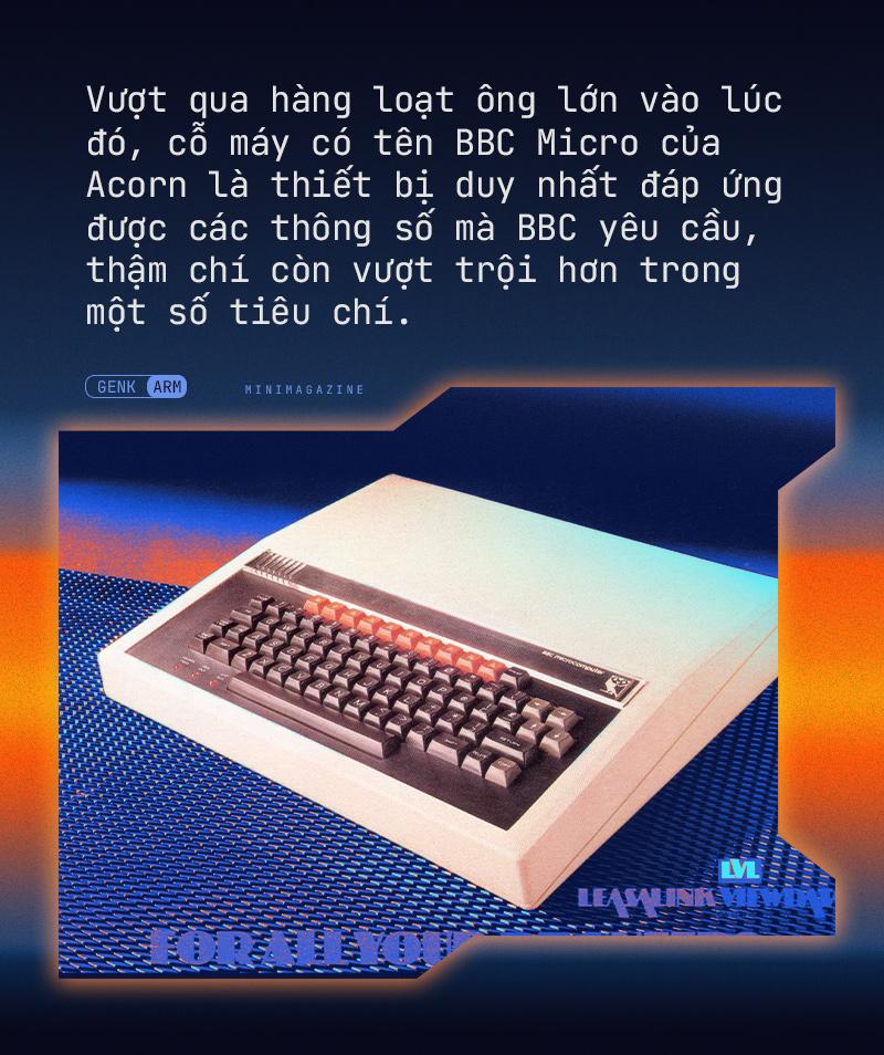Từ một nhà sản xuất máy tính, tại sao chip ARM có thể ra đời và thay đổi thế giới như hiện nay - Ảnh 3.