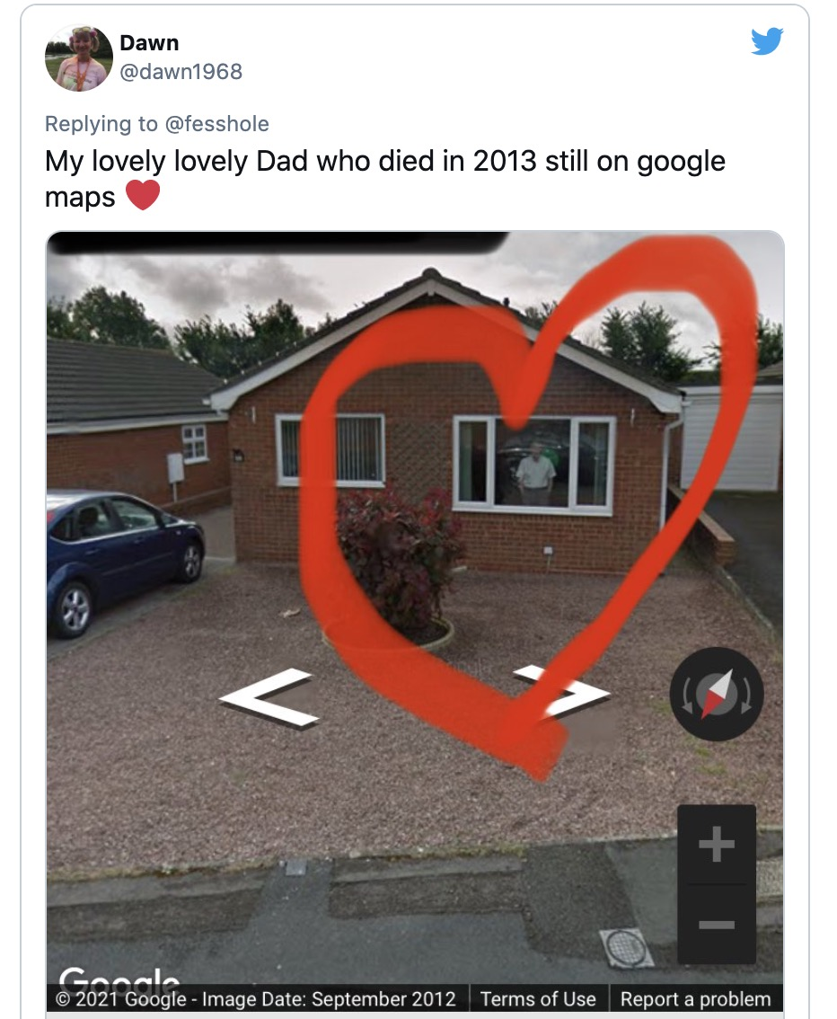 Google Maps trở thành nơi nhiều người tìm đến để thăm người thân đã khuất - Ảnh 2.
