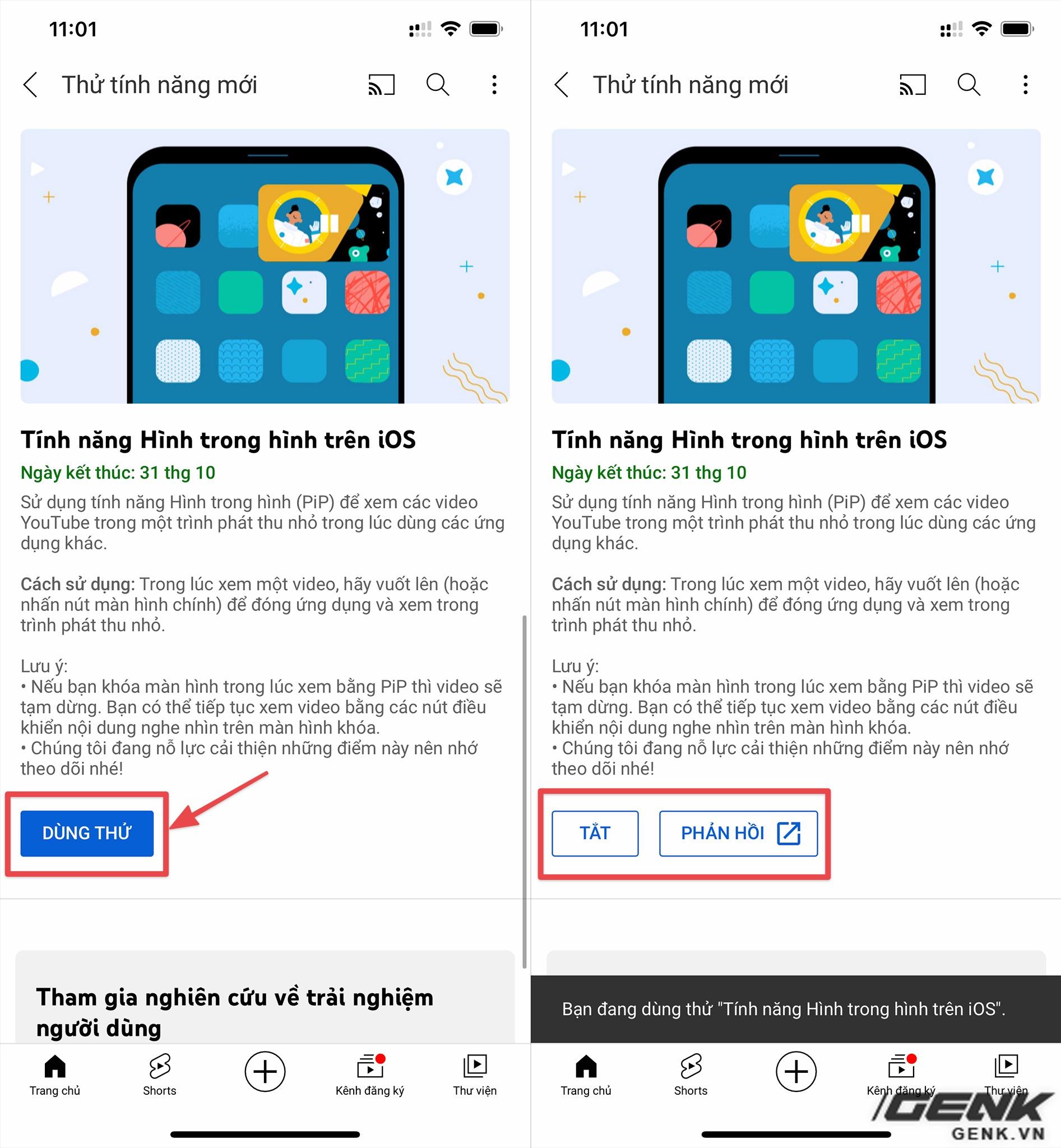 YouTube mở tính năng Picture-in-Picture cho người dùng iPhone - Ảnh 1.