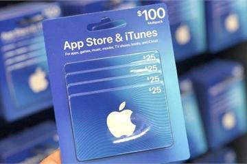 Apple bị kiện vì không giúp các nạn nhân bị lừa đảo phiếu quà tặng iTunes