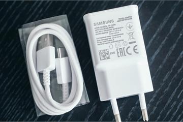 Theo chân Apple, đến lượt Samsung sắp bỏ củ sạc kèm smartphone?