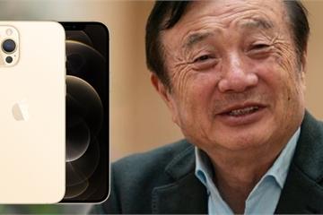 CEO Huawei thừa nhận iPhone 12 là điện thoại tốt nhất thế giới