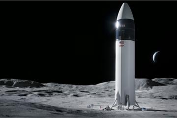 SpaceX giành được hợp đồng độc quyền đưa người lên Mặt Trăng cho NASA