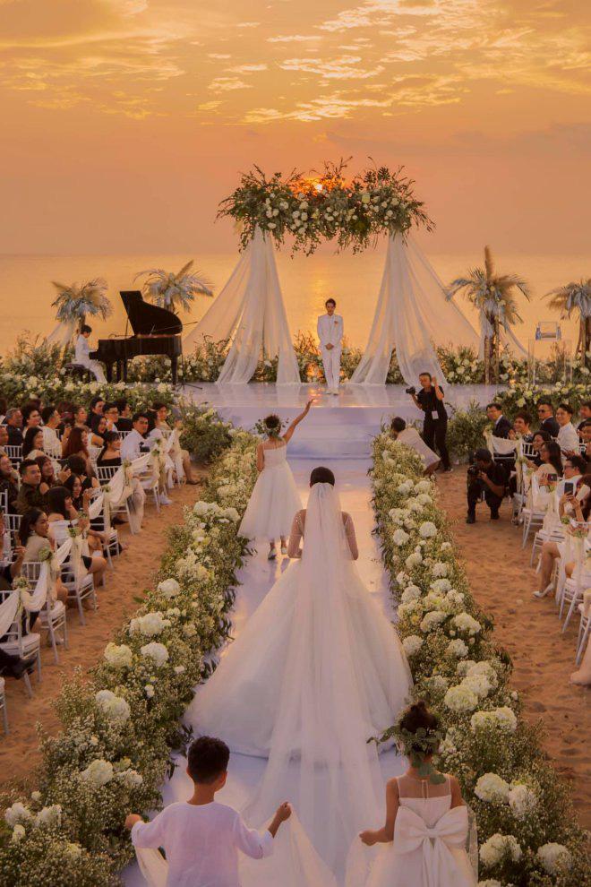 Thực đơn đắt khủng khiếp trong đám cưới của Ông Cao Thắng và Đông Nhi - Ảnh 1.