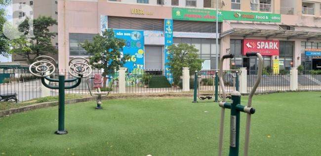 Hà Nội: Khu vui chơi chung cư bị bỏ hoang do người dân lo sợ rắn hổ mang tấn công - Ảnh 1.