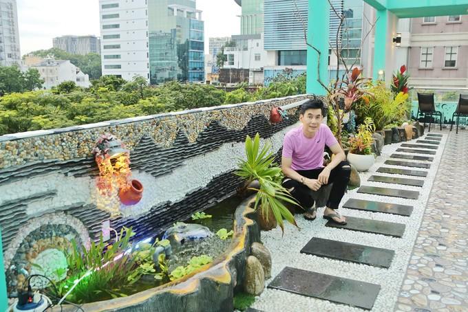 Nhà phố 70 tỷ nhìn đâu cũng thấy màu tím của nam ca sĩ từng là một trong Tứ đại thiên vương của nhạc Việt - Ảnh 16.