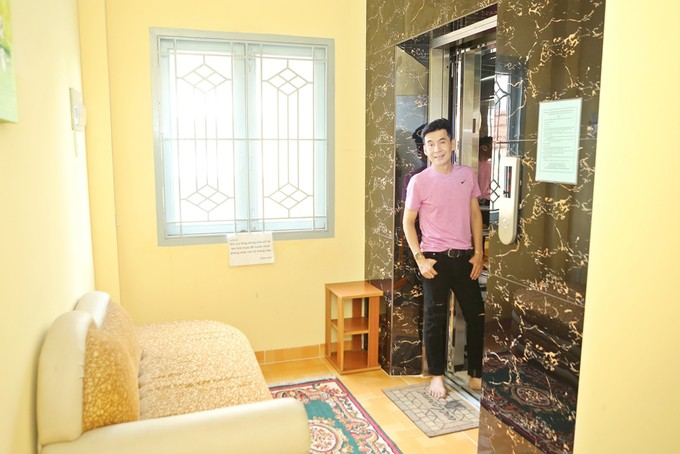 Nhà phố 70 tỷ nhìn đâu cũng thấy màu tím của nam ca sĩ từng là một trong Tứ đại thiên vương của nhạc Việt - Ảnh 4.
