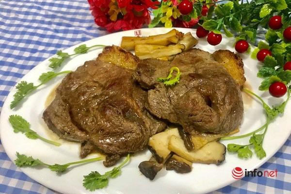 Thịt bò áp chảo thơm ngon đổi món cuối tuần - Ảnh 7.