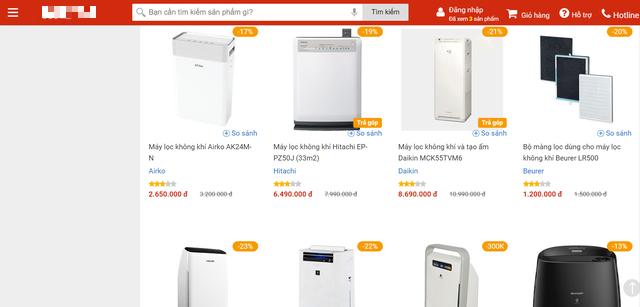 Ở nhà giãn cách, ách ly phòng COVID-19, người Hà Nội mạnh tay chi tiền triệu mua máy lọc không khí - Ảnh 4.