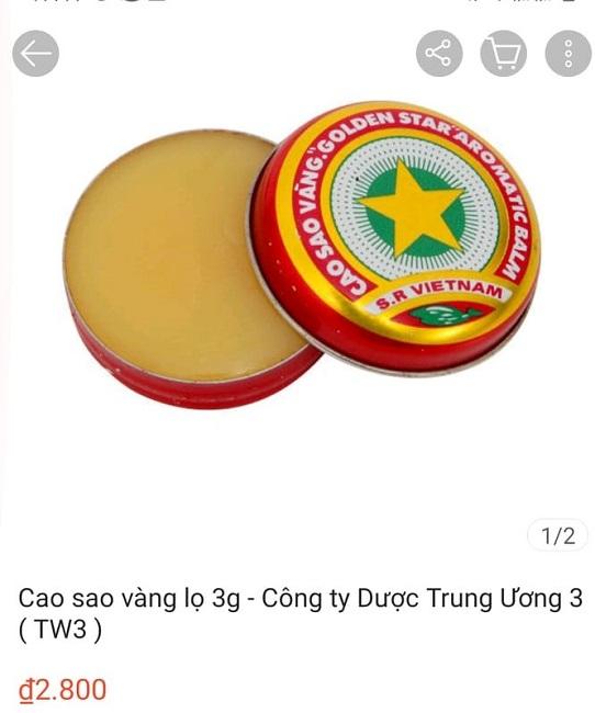 Cao Sao Vàng 3.000 đồng/hộp ở Việt Nam đang gây sốt ở nhiều nước, sốc nhất giá bán cao nhất lên đến 1,4 triệu đồng/hộp - Ảnh 1.