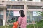 Sân chơi chung cư bị bỏ hoang do dân sợ rắn hổ mang tấn công