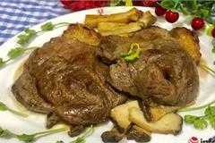 Thịt bò áp chảo thơm ngon đổi món cuối tuần