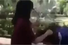 Nữ sinh cấp 2 ở Hải Phòng đánh bạn dã man