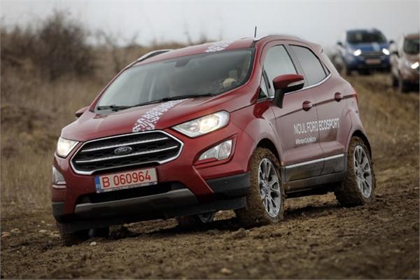 Ford EcoSport sử dụng 470 chai nhựa bỏ đi làm thảm trải sàn