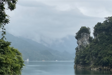 Tuyen Quang's Na Hang Reservoir offers stunning landscapes