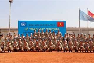 Vietnam's field hospital in South Sudan honoured for outstanding contributions to UN peacekeeping