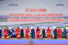 Construction starts on new Hue airport terminal