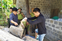 Wild animals illegally traded in Phong Nha-Ke Bang National Park